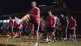 Chùm ảnh: Chùm ảnh: Vừa tới Thượng Hải, Juventus đã lao vào luyện tập