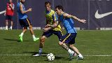 Chùm ảnh: Chùm ảnh: Barcelona tập luyện chờ phục hận Athletic, vắng bóng Pedro