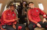 Chùm ảnh: Sao M.U tranh tài sao Real, Chelsea, AC Milan, Bayern Munich