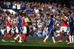 Chùm ảnh: Chùm ảnh: Paulista dính bẫy Costa, Arsenal thua tức tưởi Chelsea