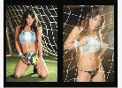 Chùm ảnh: Nhan sắc của Fiorella Castillo - người mẫu có tài tâng bóng