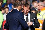 Chùm ảnh: Mất điểm tiếc nuối trước Everton, Rodgers đếm ngược ngày chia tay