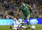 Chùm ảnh: Chùm ảnh: Dụng binh như thần, O'Neill giúp CH Ireland gây sốc trước Đức