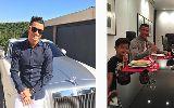 Chùm ảnh: Điểm tin hậu trường 20/10: Neymar bị CR7