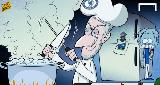 Chùm ảnh: Biếm họa: Mourinho sắp lên... thớt