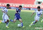 Chùm ảnh: Thắng tối thiểu Bình Định, An Giang vào chung kết U21 Quốc gia