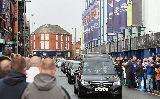 Chùm ảnh: Sir Alex, Rooney dự đám tang của huyền thoại Everton