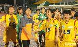 Chùm ảnh: CLB Nữ TP.HCM tưng bừng ăn mừng chức vô địch