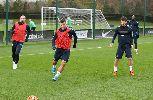 Aguero tích cực tập luyện hy vọng kịp bình phục trước đại chiến với Liverpool