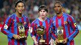 Chùm ảnh: Những bộ ba tấn công siêu khủng của Barca: Messi trường tồn qua năm tháng