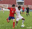 Chùm ảnh: Đánh bại U21 Myanmar, U19 Hàn Quốc giành vé vào bán kết