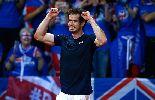 Murray òa khóc khi giúp tuyển Anh vô địch Davis Cup