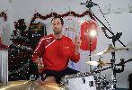 Chùm ảnh: Petr Cech và Alexis Sanchez trổ tài chơi nhạc Giáng sinh