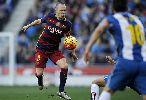 Chùm ảnh: MSN bất lực, Barcelona chỉ có một điểm trong trận đầu năm
