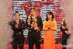 Đức Eto'o hạnh phúc ngất ngây khi giành danh hiệu Quả bóng vàng 2015