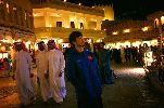 Chùm ảnh: Công Phượng và đồng đội dạo phố Qatar