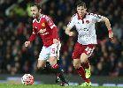 Chùm ảnh: Rooney sút 11m, Man United nhọc nhằn hạ đội League One