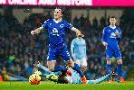 Chùm ảnh: Man City tung ra 22 cú sút nhưng không thể thắng Everton