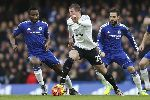 Chùm ảnh: Chùm ảnh: John Terry ghi bàn phút 98, The Blues may mắn giữ lại một điểm ở lại Stamford Bridge
