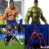 Ảnh chế: Mr Bean dùng tăm chống mắt xem M.U; Lionel Cristiano Zlatan Mạc Hồng Young chấn thương háng