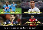 Chùm ảnh: Ảnh chế: Bộ ba MSN bất ngờ cập bến sân Old Trafford, CR7 đau xót khi bị Ronaldinho