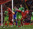 Chùm ảnh: Chùm ảnh: Dẫn trước 2 bàn, Liverpool vẫn để mất 2 điểm trên sân Anfield