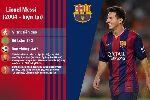 Chùm ảnh: 10 cầu thủ hay nhất lịch sử Barcelona