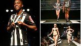 Chùm ảnh: Chùm ảnh: Màn ra mắt trang phục mới với người mẫu nóng bỏng của đội bóng Brazil
