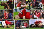 Chùm ảnh: Đội hình khủng của Man United đang nằm dưỡng thương: Wayne Rooney làm đầu tàu