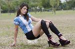 Chùm ảnh: Fiorella Castillo - người thách thức Messi