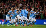 Man City như 'phát điên' ăn mừng ngôi vô địch League Cup