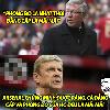 """Ảnh chế: Pep """"đau nửa đầu"""" trước chiêu trò của Pellegrini; Sir Alex """"quê độ"""" vì thầy trò HLV Wenger"""