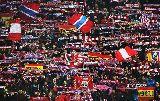 Chùm ảnh: Atletico Madrid thắng phạt đền nhờ CĐV 'yểm bùa'