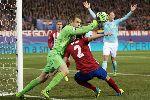 Chùm ảnh: Đội hình tiêu biểu lượt về vòng 1/16 Champions League: CR7 mất tích, MSN