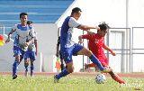 Chùm ảnh: Hai nhà vô địch AFF 2008 bất phân thắng bại trên sân Đồng Nai